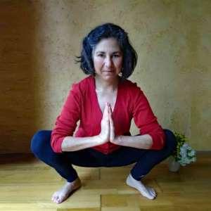 Yoga et Hatha-yoga avec Corinne Brieulle-Collas de l'association Souffle et Mouvement à Meucon.